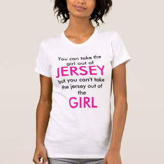 Chica del jersey tee shirts
