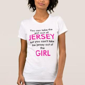Chica del jersey playera