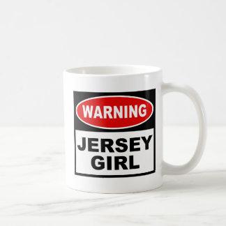 Chica del jersey taza clásica