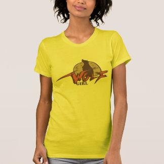 Chica del lobo camisas