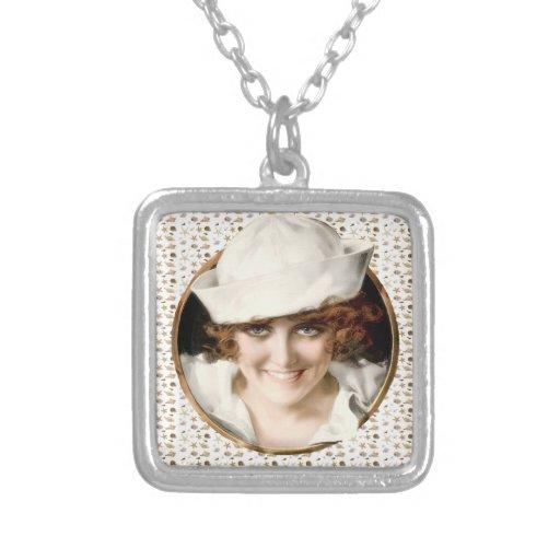 chica del marinero de los años 20 collar