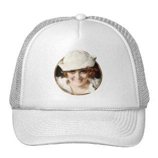 chica del marinero de los años 20 gorra