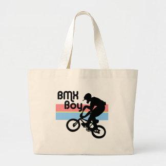 Chica del muchacho/BMX de BMX Bolsa De Tela Grande