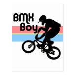 Chica del muchacho/BMX de BMX Tarjetas Postales