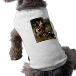chica del muchacho del caballo del perro del colli ropa de mascota