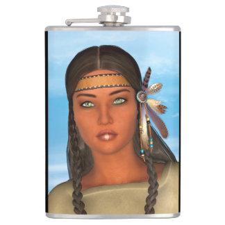 Chica del nativo americano