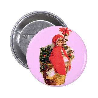 Chica del navidad pin