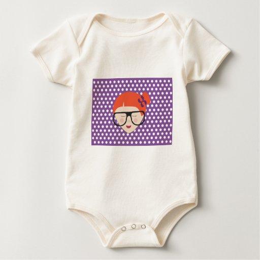 chica del nc 0512 traje de bebé