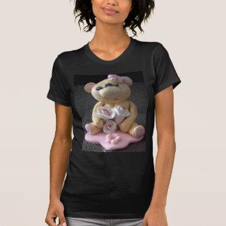 chica del oso de peluche del topcake playera