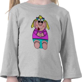 Chica del palo de golf de los Critters de Camiseta