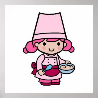 Chica del panadero poster