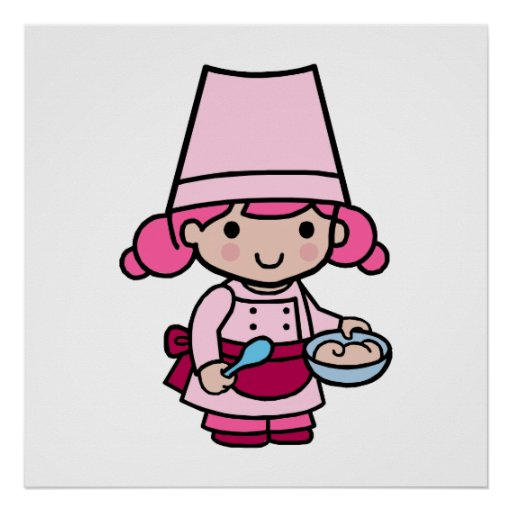 Chica del panadero póster