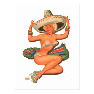 """Chica del Pin-Para arriba de la """"salsa caliente"""" Postales"""