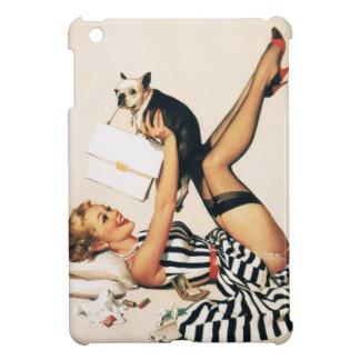Chica del Pin-para arriba del amante del perrito -