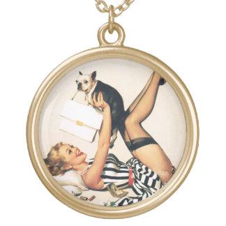 Chica del Pin-para arriba del amante del perrito - Joyería