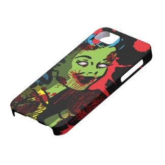 Chica del Pin-Para arriba del zombi del caso del iPhone 5 Carcasas
