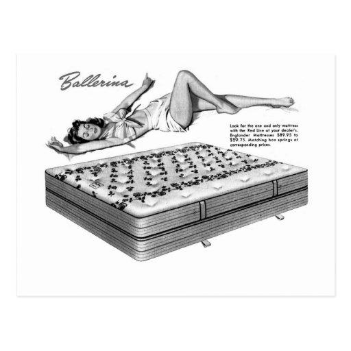 """Chica del Pin-Para arriba el """"dormir Ballarina"""" de Postal"""
