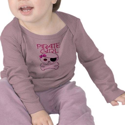 Chica del pirata - camiseta del fiesta del pirata