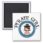 Chica del pirata imán
