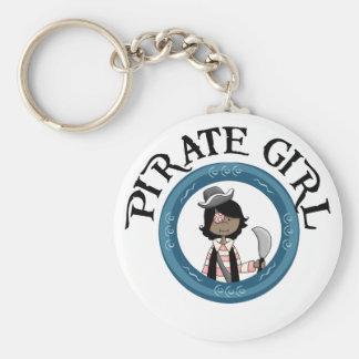 Chica del pirata llavero