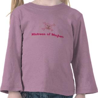 Chica del pirata: Señora de la mutilación Camiseta
