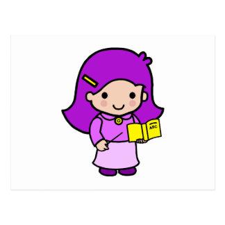 Chica del profesor postal