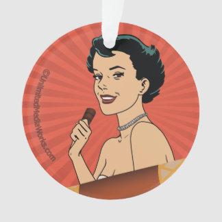 Chica del rollo del caramelo