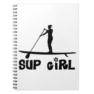 Chica del SORBO Note Book