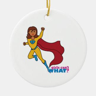 Chica del super héroe ornatos