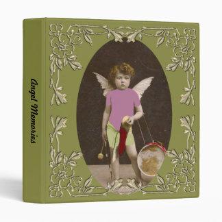 "Chica del tambor del ángel carpeta 1"""
