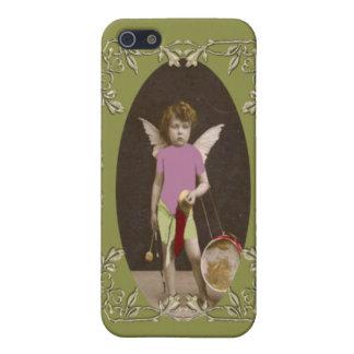 Chica del tambor del ángel iPhone 5 carcasa
