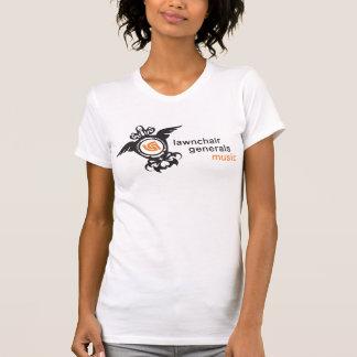 Chica del tanque de la música de LCG Camiseta