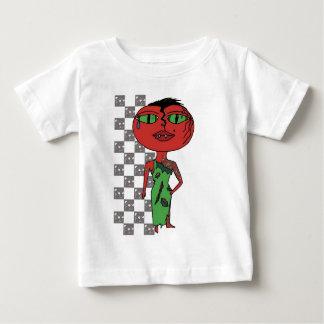 Chica del tomate - Eddie con las vides Playera Para Bebé