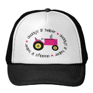 Chica del tractor del ayudante de Lil del papá Gorros