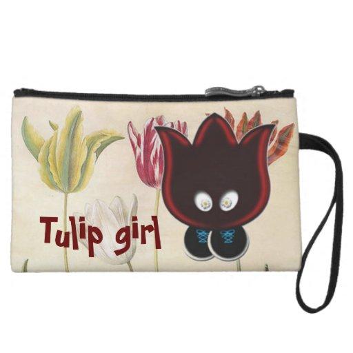 Chica del tulipán