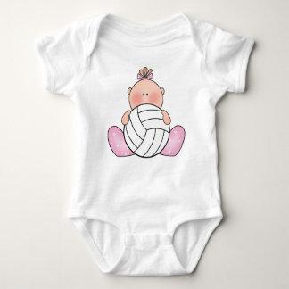 Chica del voleibol de Lil Body Para Bebé