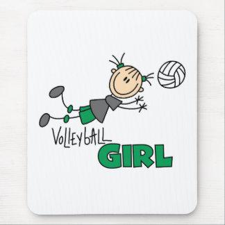 Chica del voleibol tapete de raton