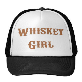 Chica del whisky gorros