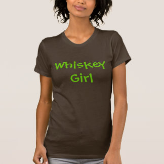 Chica del whisky t-shirts