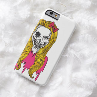 Chica del zombi funda barely there iPhone 6