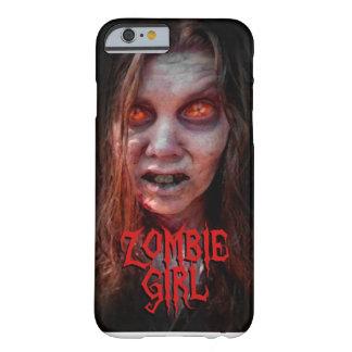 Chica del zombi funda de iPhone 6 barely there