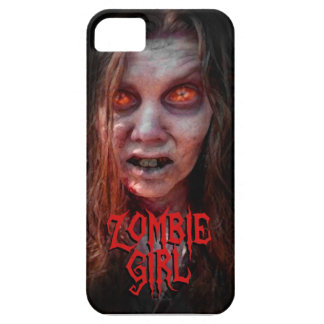 Chica del zombi funda para iPhone 5 barely there