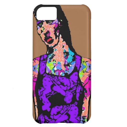 Chica del zombi funda para iPhone 5C