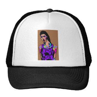 Chica del zombi gorras