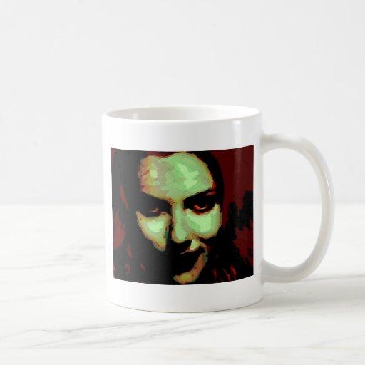 Chica del zombi tazas de café