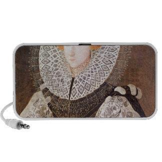 Chica desconocido, envejecido 20, 1587 iPhone altavoces