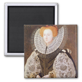 Chica desconocido, envejecido 20, 1587 imán de frigorifico