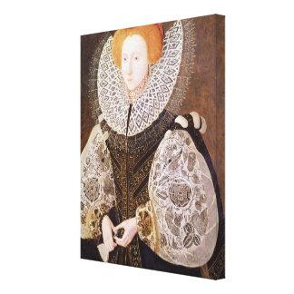 Chica desconocido, envejecido 20, 1587 impresiones de lienzo