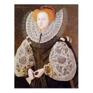 Chica desconocido, envejecido 20, 1587 postal