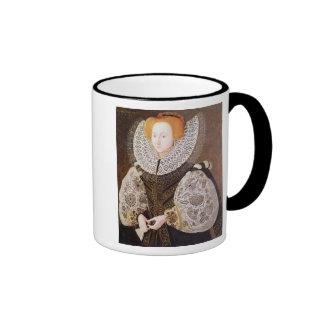 Chica desconocido, envejecido 20, 1587 taza a dos colores